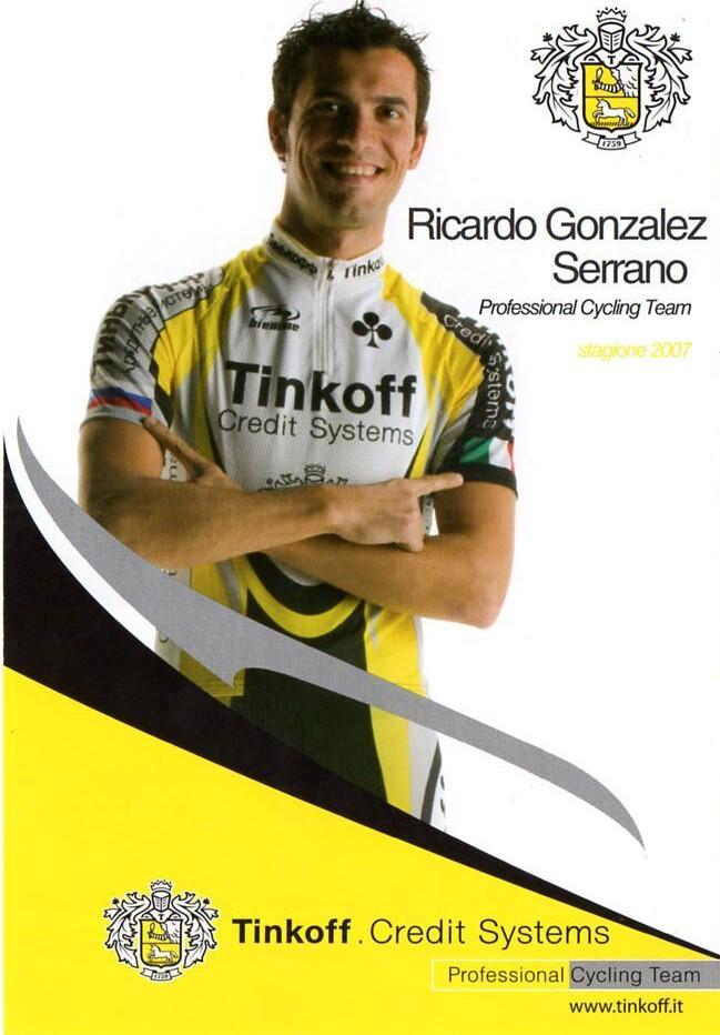 Ricardo Gonzalez Serrano - Tinkoff 2007