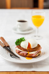 Croque madame, French Toast with Egg