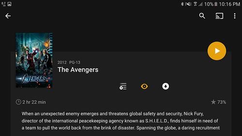 Plex Media Server ช่วยดึงข้อมูลชื่อ ภาพปก และเรื่องย่อของหนังมาใส่ให้