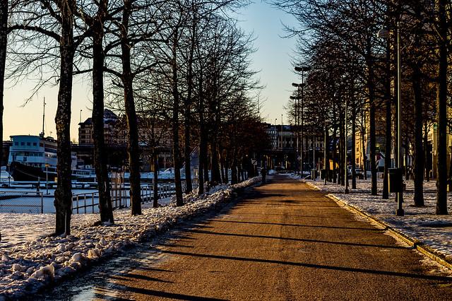 Merihaka promenade