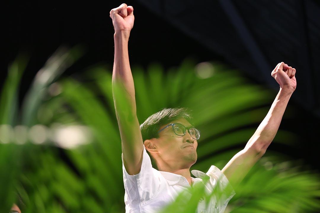 獨立的朱凱廸贏得新界西其中一個議席。