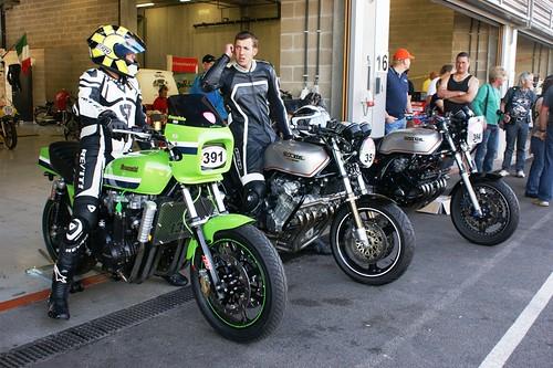 Kawasaki Z1300-6 & Honda CBX 1000-6