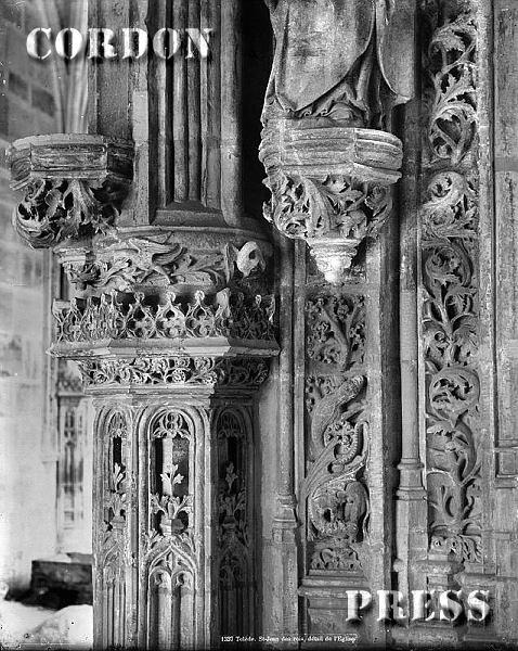Claustro de San Juan de los Reyes en Toledo hacia 1875-80. © Léon et Lévy / Cordon Press - Roger-Viollet