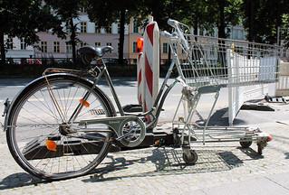 Fahrrad - Einkaufswagen - Transformer