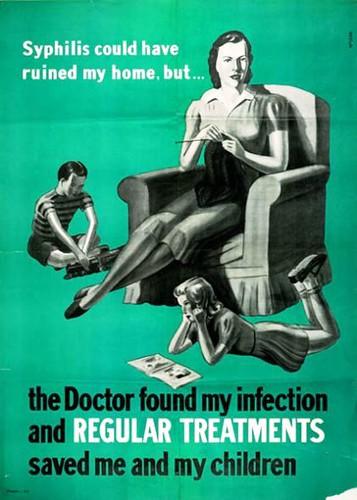 Anti-Syphillis Poster 1940