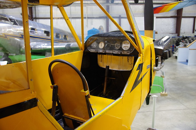 piper j 3 cub interior and you can climb in i don 39 t thin flickr photo sharing