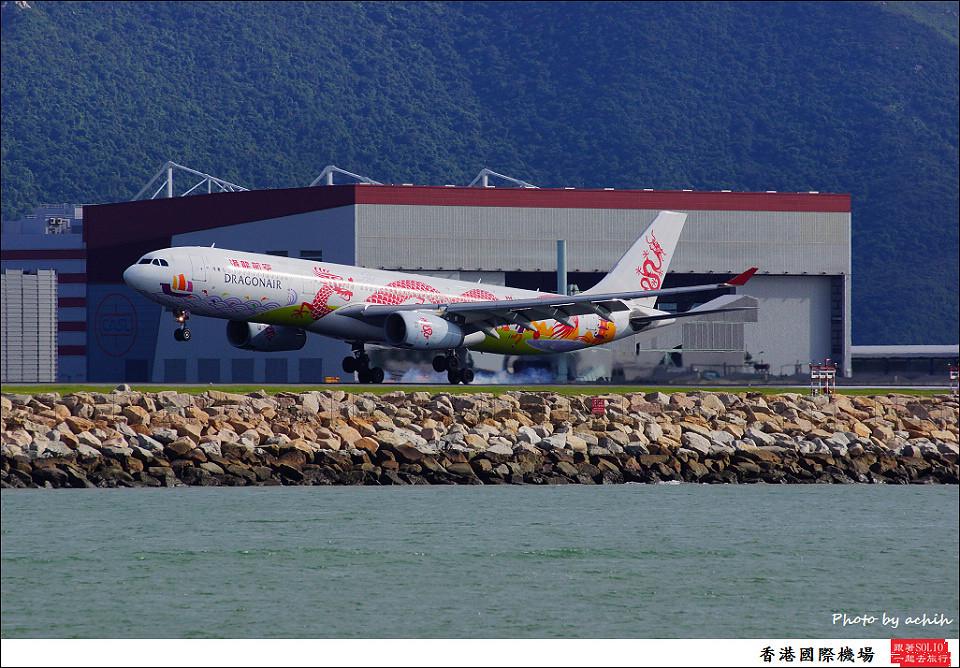 Dragonair / B-HWG / Hong Kong International Airport