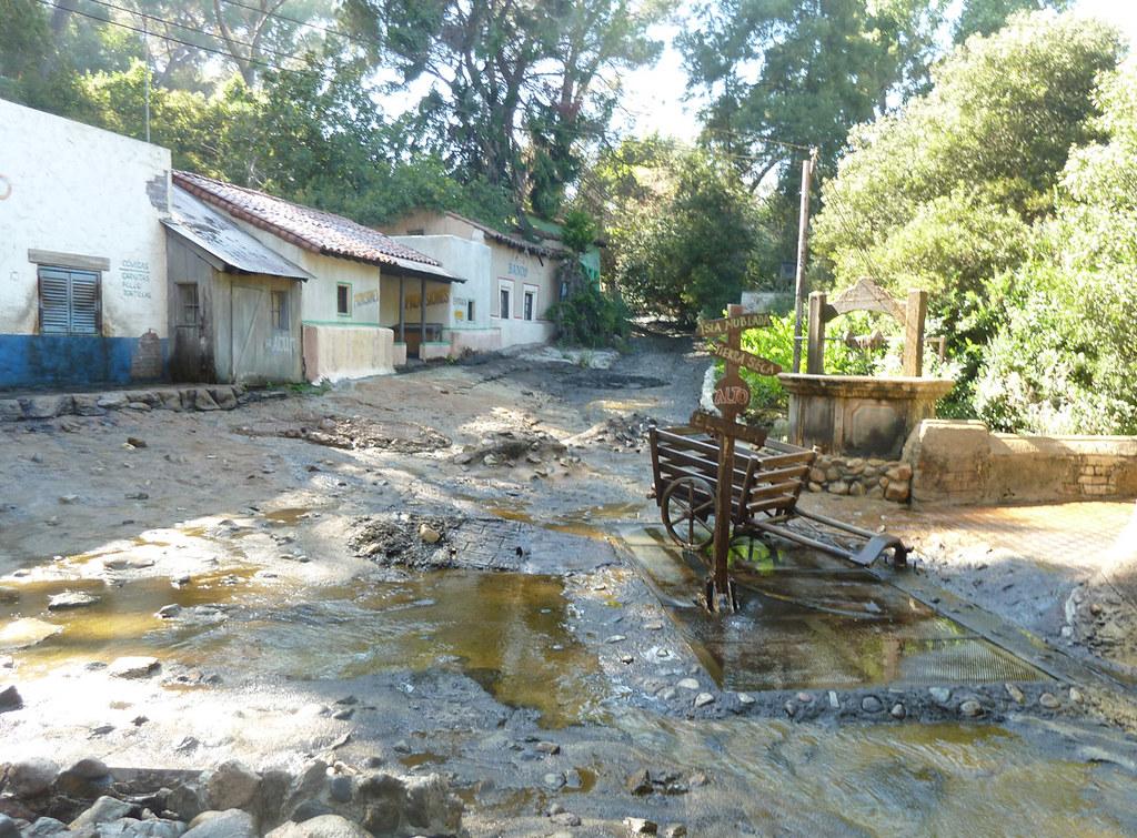 Universal studio tour Так организуют наводнение в мексиканской деревне