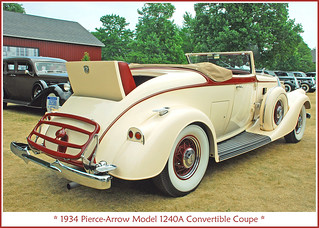 1934 Pierce-Arrow Convertible Coupe