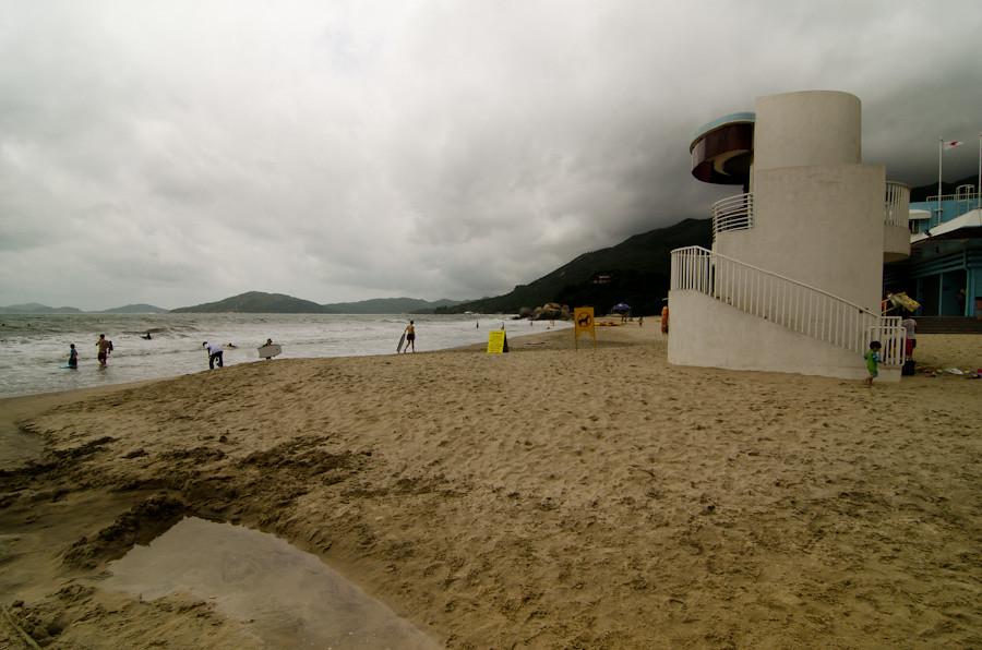 пляж гонконг
