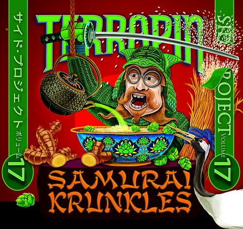 Terrapin Samurai Krunkles