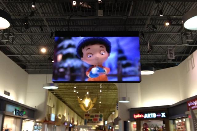 Rigging Points Suspend Massive Mall Display