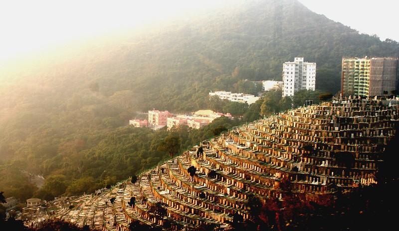 Cementerio en terrazas