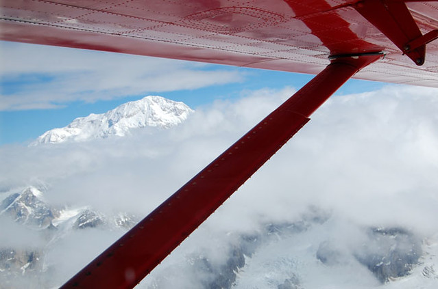 Mount McKinley from plane