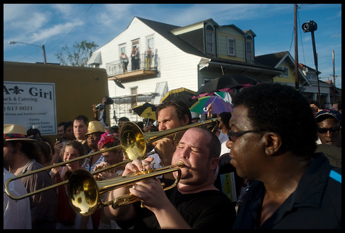 Uncle Lionel Batiste's Memorial Second Line. Photo by Ryan Hodgson-Rigsbee