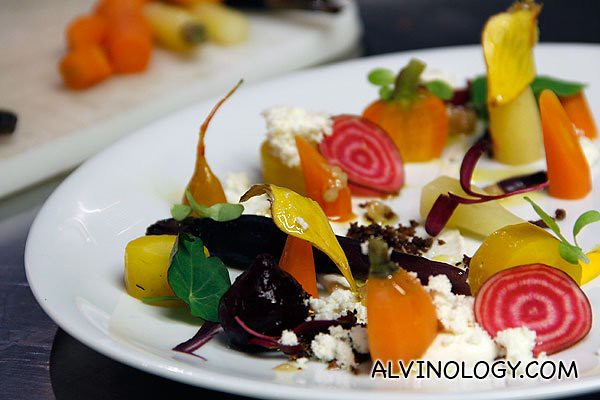 Here's the much more gorgeous version by chef Robinson