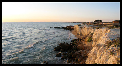 sunset sea beach nature water landscapes sicilia panoramics