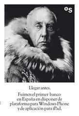 Roald Amundsen, primer hombre en pisar el Polo Sur