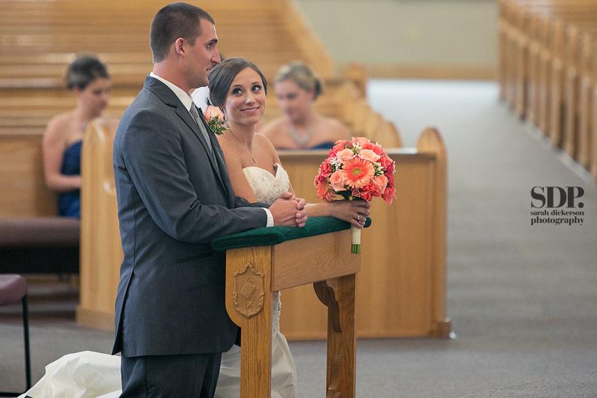 Holy Trinity Catholic Church Overland Park wedding