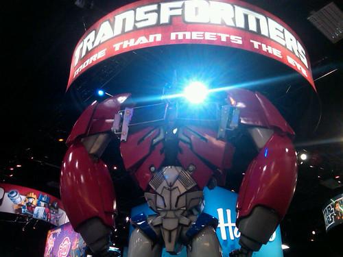 Comic-Con Transformers