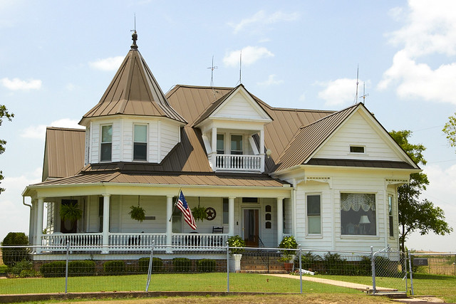 Central Texas Farm House