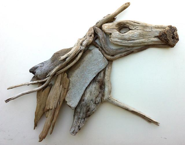 driftwood art the running horse driftwood art. Black Bedroom Furniture Sets. Home Design Ideas