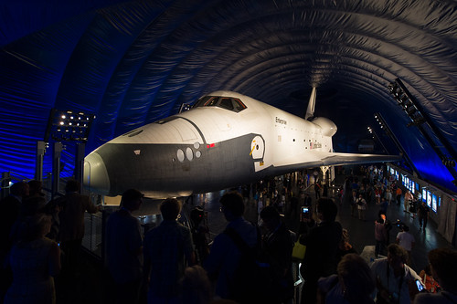 Intrepid Space Shuttle Pavilion Opening (201207190002HQ)