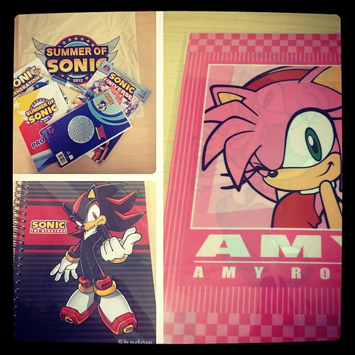 Our Free Stuff Friday prizes for July 20, 2012. Follow us on twitter @sega for a chance to win!