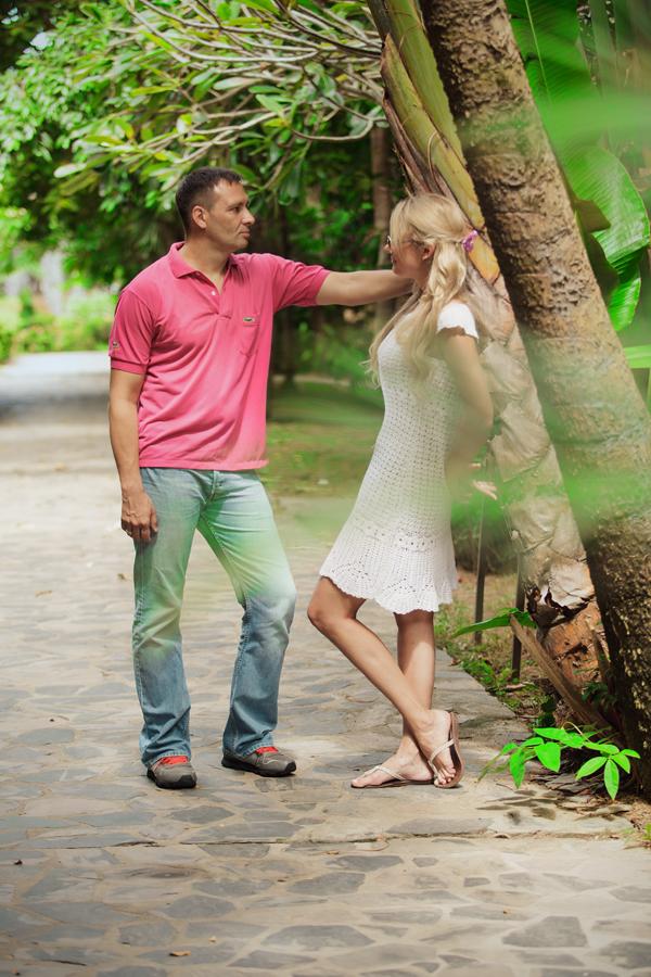 Фотосессия в Тайланде, прогулочная фотосессия пары
