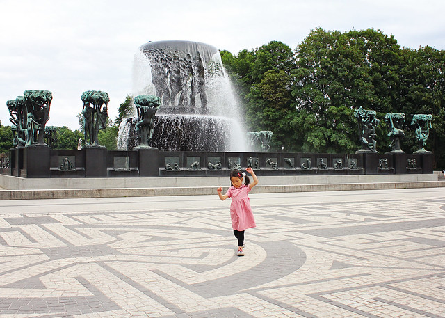 vigeland fountain lily