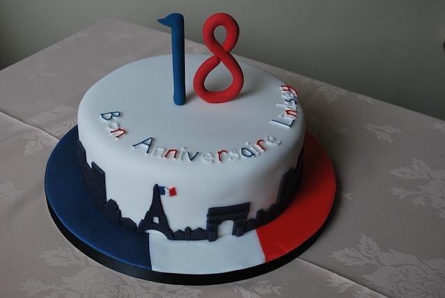 Tour Eiffel Cake