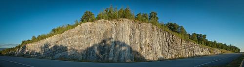 rock earth fold geology roadcut orogeny