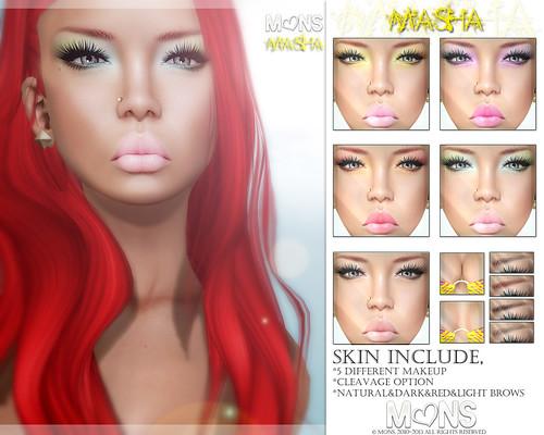 MONS Masha Skin (zoom) by Ekilem Melodie - MONS