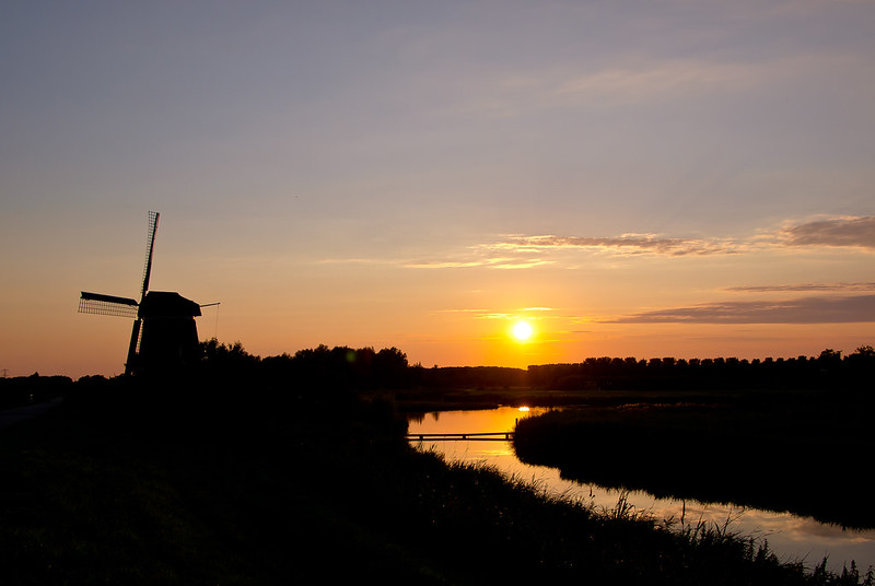 Sunset at het Twiske