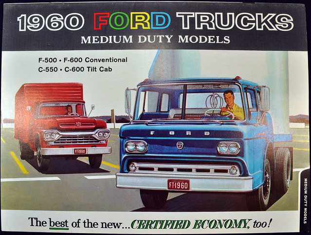 1960 Ford Trucks Brochure - medium duty models