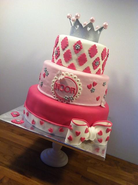 Pink Birthday Cake Noor Flickr Photo Sharing