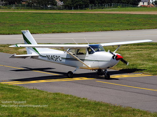 N145PC Cessna FR.172J by Jersey Airport Photography