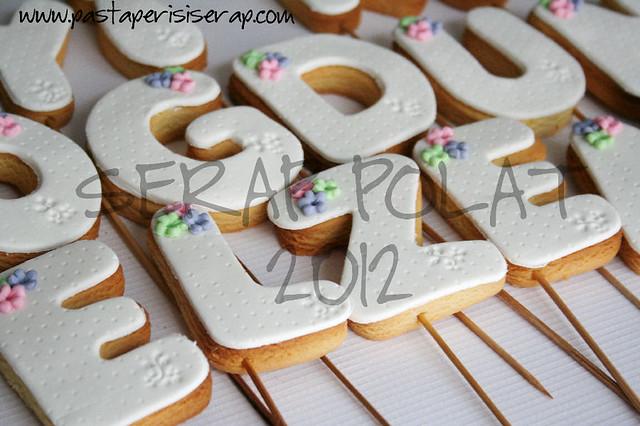 Elzem- doğum günü kurabiye
