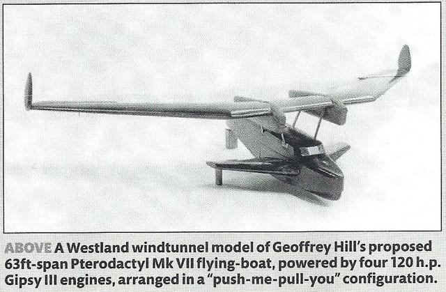 Westland-Hill Pterodactyl Mk VII concept