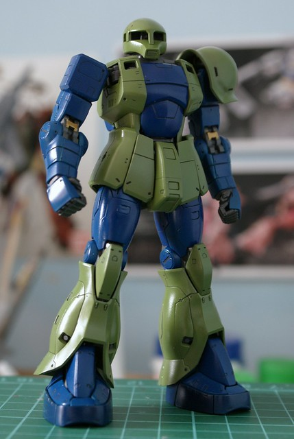 Real Grade 1/144 - MS-05 Zaku I - WiP 12 - Assembled!