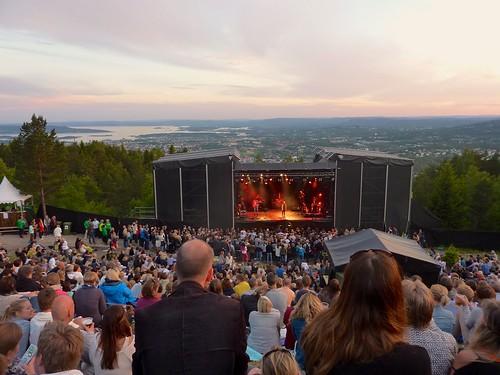 Oslo (NO) - Melissa Horn op Over Oslo Festival  / Grefsenkollen