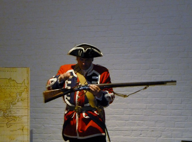 Redcoat Soldier, Fort George