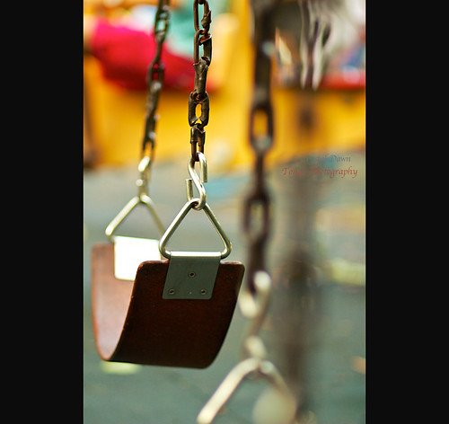 Empty Swings by © Crystal Dawn Photography