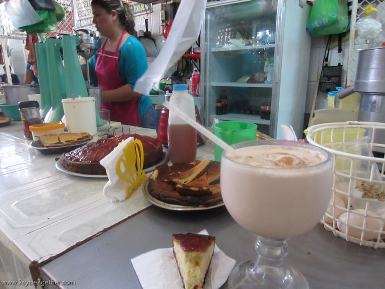 Breakfast in the market, Ruiz, Nayarit