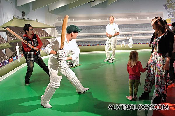 Famous cricket players