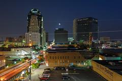 Shreveport Night Skyline
