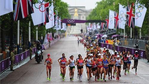 Maratón Londres 2012 Mujeres