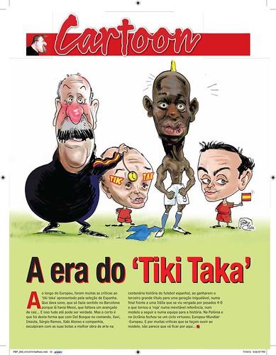 Mario-Balotelli-y-La-Roja by caricaturas