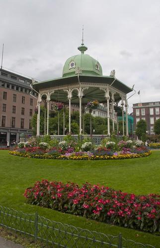 111 Musikkpavilliongen en Byparken Bergen