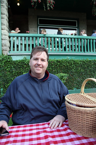 Butchart Gardens - Mike, Ready to Picnic